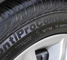 Opti-Bond creates a dark, shiny finish on tires, rubber trim, interior vinyl trim, and dashboards.