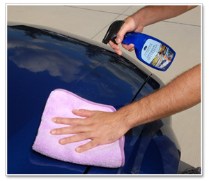 Use Optimum Opti Clean to clean and protect the paint.