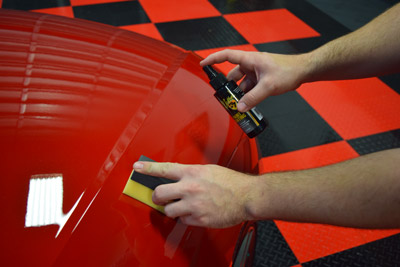 Detailer's Paint Coating is exceptionally easy to work with