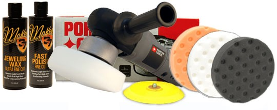 Porter Cable 7424XP Polisher Combo