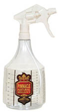 The 36 ounce detail bottle is perfect for concentrated products because it has dilution ratios on the side!