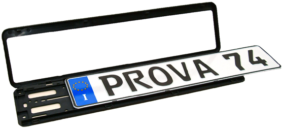 European License Plate Frame