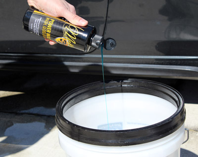 McKee's 37 Power Wash cleans, shines, and protects in one step!