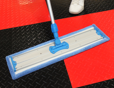 The Premium Microfiber Wet Mop Pad is perfectly sized for all your floor cleaning needs!