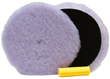 The Foamed Wool buffing pad removes heavy oxidation