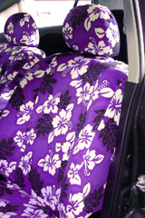 Custom Hawaiian Seat Covers for trucks, SUVs and vans are constructed of tough polyester cotton with double-stitched seams.