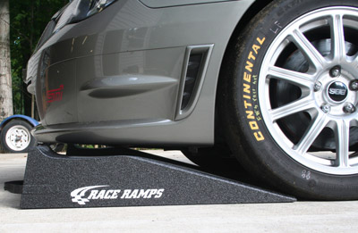 Rally Ramps by Race Ramps feature a low angle of approach ideal for vehicles with short noses.