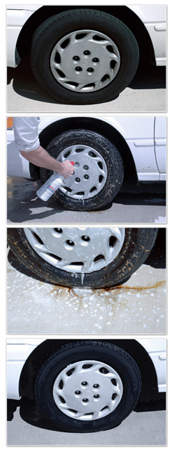 Amazing Roll Off breaks up grease and brake dust without scrubbing!