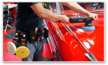 Rupes Big Foot Detailing Belt stores all your must have products!