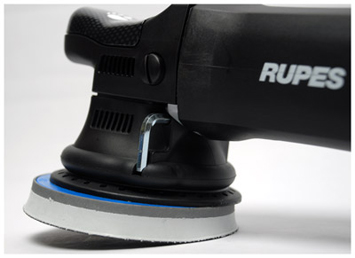 The Rupes LHR 15ES is the smoothest running random orbital polisher money can buy
