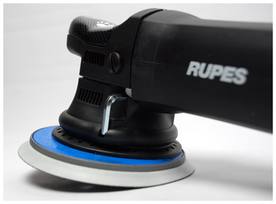 The Rupes LHR 21ES Big Foot Random Orbital Polisher features the largest stroke of any polisher on the market!
