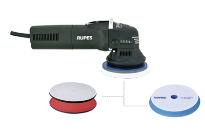 The Rupes LHR 12E Duetto doubles as a sander and a polisher!