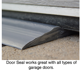 Park Smart Tsunami Seal Garage Door Seal Seal Out The