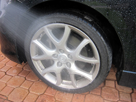 Use Sonax Wheel Cleaner on all types of wheels.