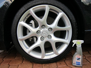 Sonax Wheel Cleaner is safe on all types of wheels.