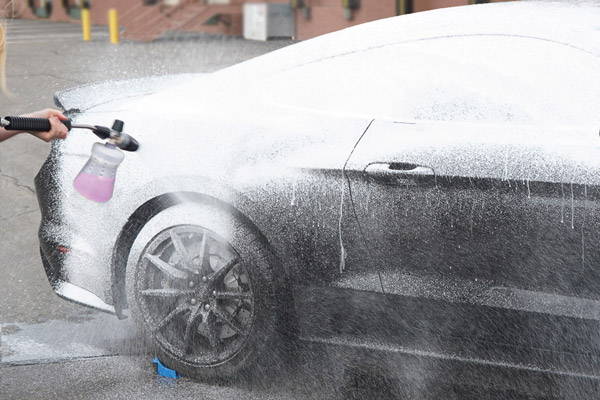 Foam cannons make washing your car easier than ever!