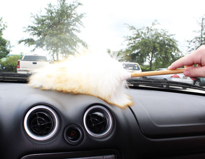 genuine wool bamboo car duster. Black Bedroom Furniture Sets. Home Design Ideas