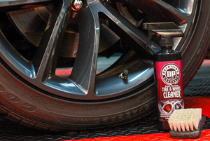 DP Dual Action Tire & Wheel Cleaner leaves your tires and wheel shiny and vivdly glossy!