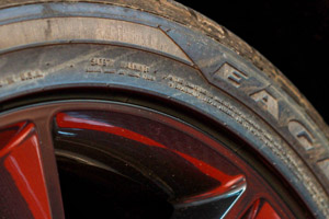 Dirty wheels and tire will be restored back to their fomrer glory by DP Tire & Wheel Cleaner!