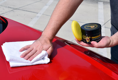 McKee's 37 Trademark Carnauba Paste Wax is easy to remove