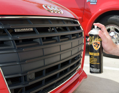 Use Trim Detailer for plastic grilles