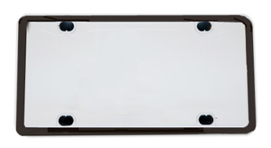 The black rubber gasket provides added protection and a black frame.