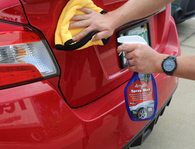 Use Ultima Acrylic Spray Wax To Boost Your Shine And Protect Perfect Finish