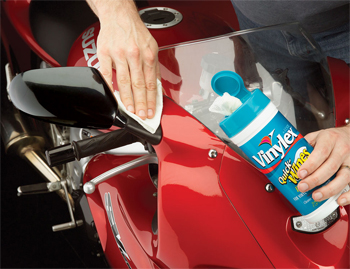Lexol Vinylex Wipes protect and shine all vinyl, plastic, and rubber. Use it on molding, trim, dash, seats, etc.