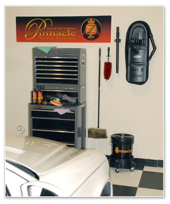 Decorate your garage with the Pinnacle Wall Banner.