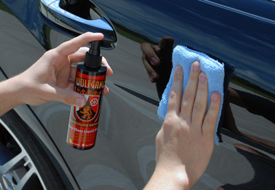 Wolfgang Deep Gloss Liquid Seal is a spray on, walk away paint sealant that requires NO buffing!