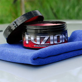 Wolfgang Fuzion Car Wax is a fusion of carnauba wax and german polymers.