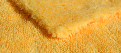 The Wolfgang Concours-Series Microfiber Towel features a super soft microfiber pile and edgeless border