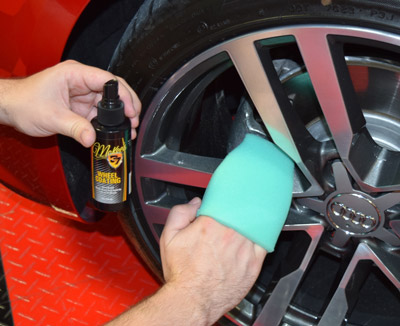 Wheel Coating is very easy to apply