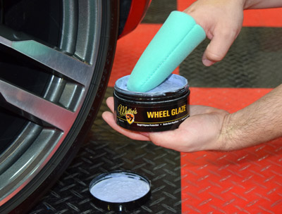 Wheel Glaze is easy to apply
