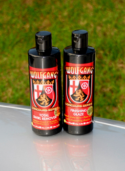 Wolfgang Total Swirl Remover 3.0 and Wolfgang Finishing Glaze 3.0 completely remove swirls and restore a showroom shine!