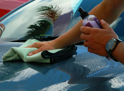 XMT Final Finish Instant Detailer adds gloss and slickness after each wash