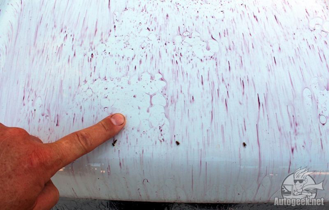 BLACKFIRE Iron Remover leaves your paint glossy and bright