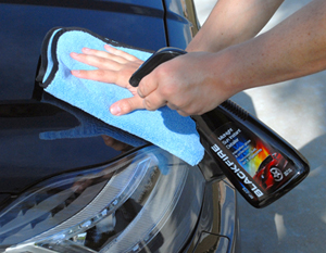 The Miracle Towel is perfect for removing waxes, sealants, and for general buffing