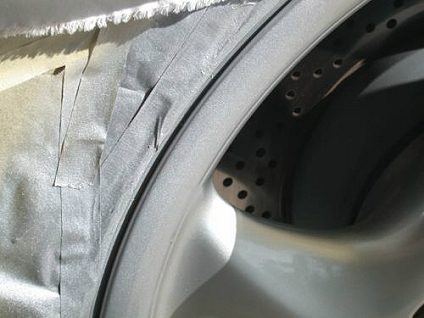 how to repair clear coat on mag wheels