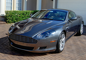 Pinnacle Signature Series II createse a high-gloss, reflective finish on lighter colored vehicles such as this Aston Martin