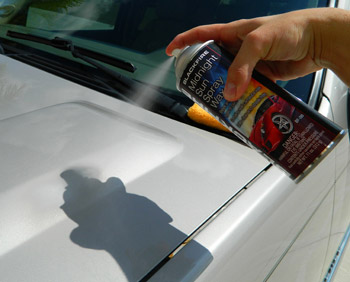 BLACKFIRE Midnight Sun Spray Wax is quick and easy to use!