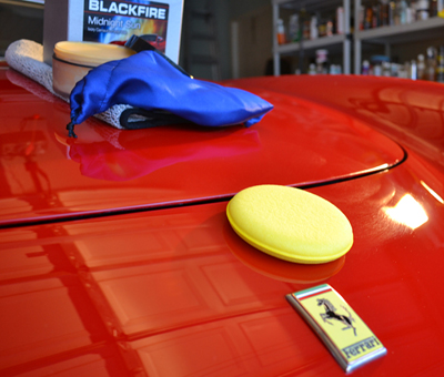 BLACKFIRE Midnight Sun is used on the best show cars!