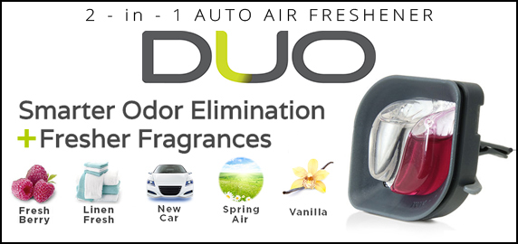 Duo 2-in-1 Auto Air Fresheners