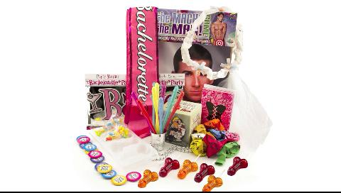 Best Sellers kit of bachelorette party supplies