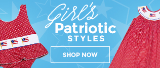Girls Patriotic Clothing