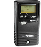 Lifeloc FC10Plus portable breath alcohol tester