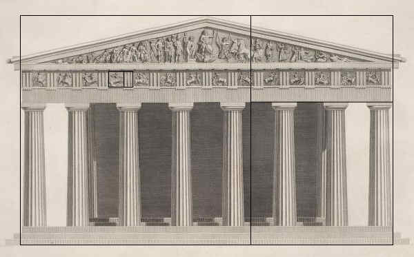 Greek Architecture Drawings the symbol of Greece