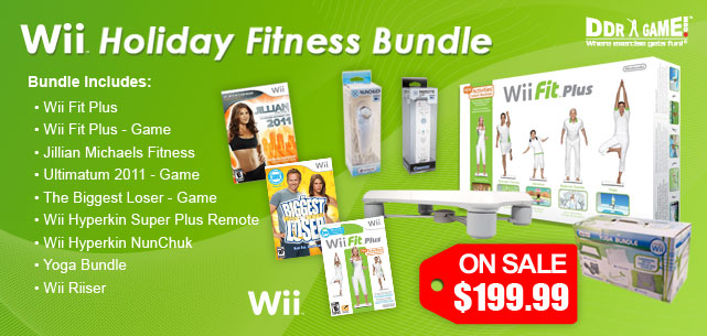 Wii Fit Plus Bundle