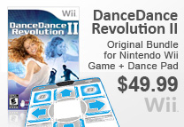 DanceDance Revolution II Bundle for Wii