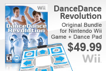 Dance Dance Revolution Wii Game